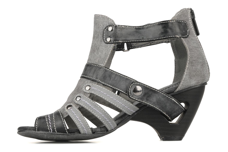 Sandalen Mustang shoes Garrano Grijs voorkant