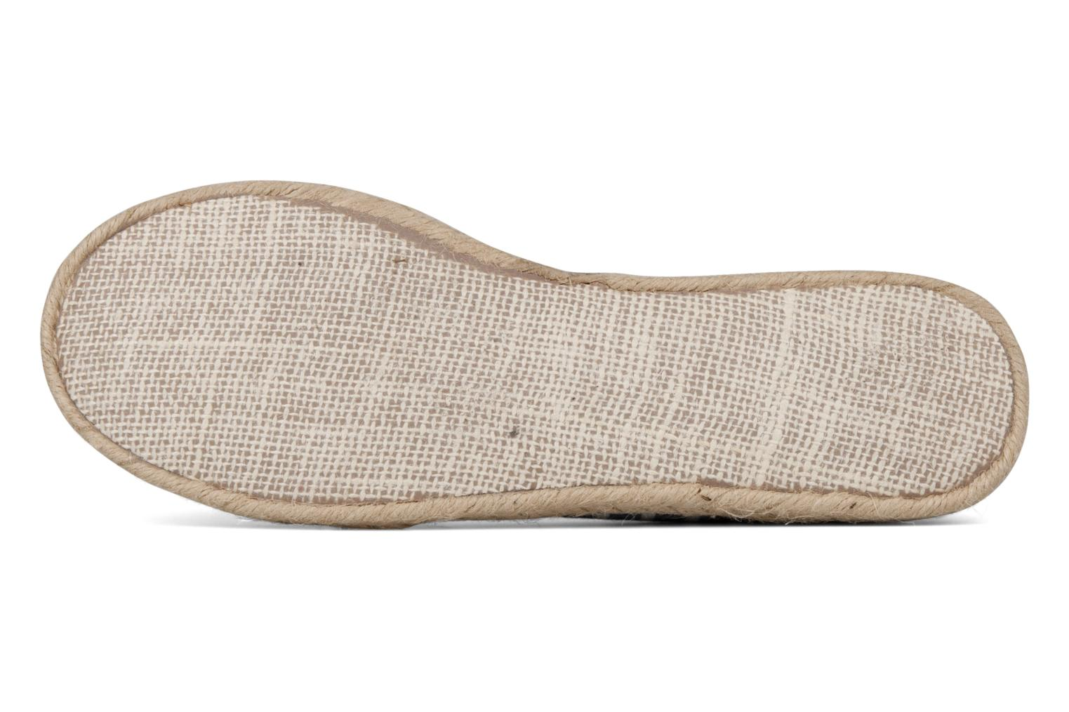 Espadrilles Rocket Dog Clover seaside stripe Blue view from above