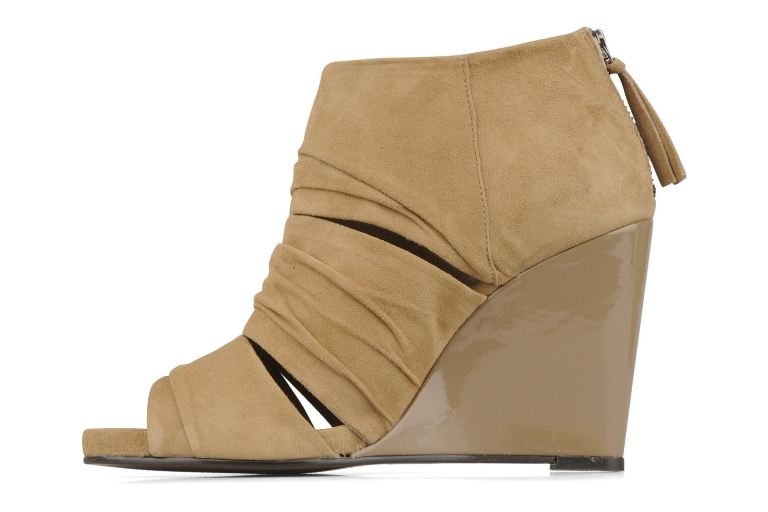 Stiefeletten & Boots Carvela Asterix beige ansicht von vorne