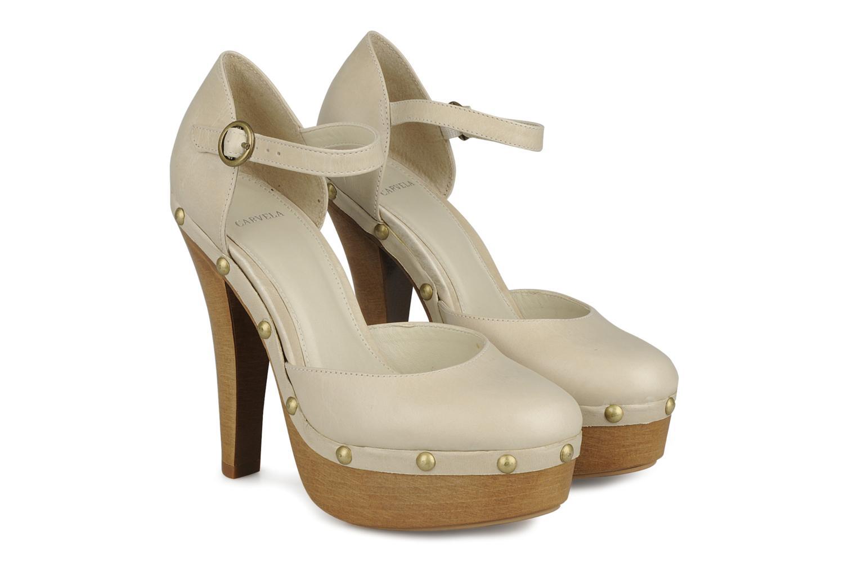 High heels Carvela Acorn Beige 3/4 view