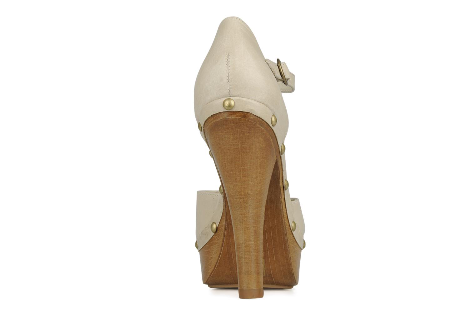High heels Carvela Acorn Beige view from the right
