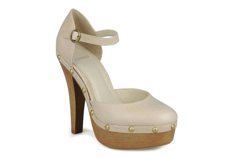 High heels Carvela Acorn Beige detailed view/ Pair view