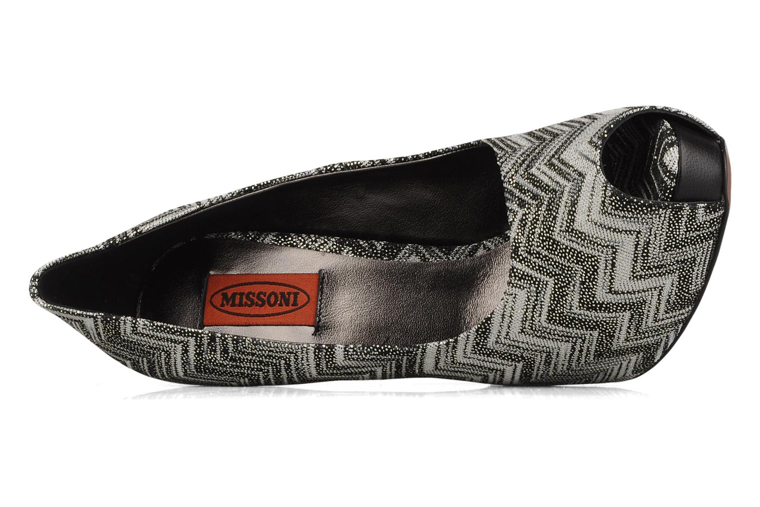 High heels Missoni Anatolia Black view from the left