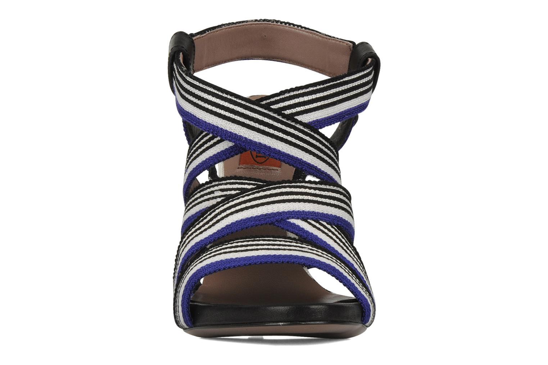 Sandalen Missoni Apollina blau schuhe getragen