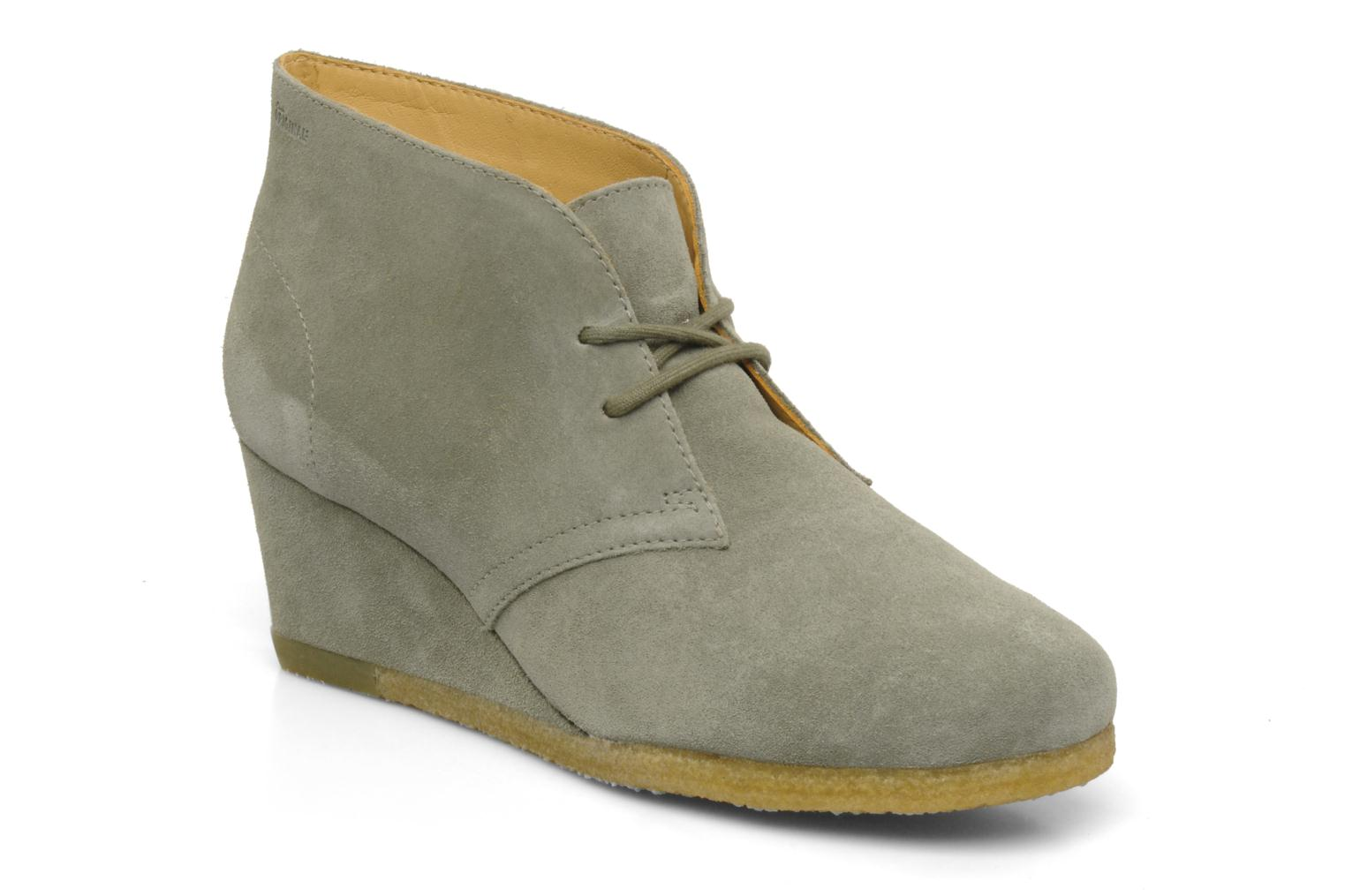 Ankle boots Clarks Originals Yarra Desert Grey detailed view/ Pair view