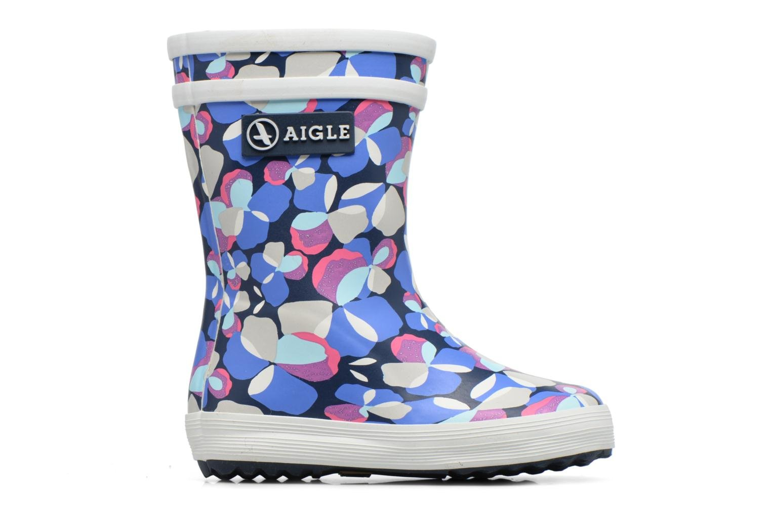 Boots & wellies Aigle Baby Flac Blue back view