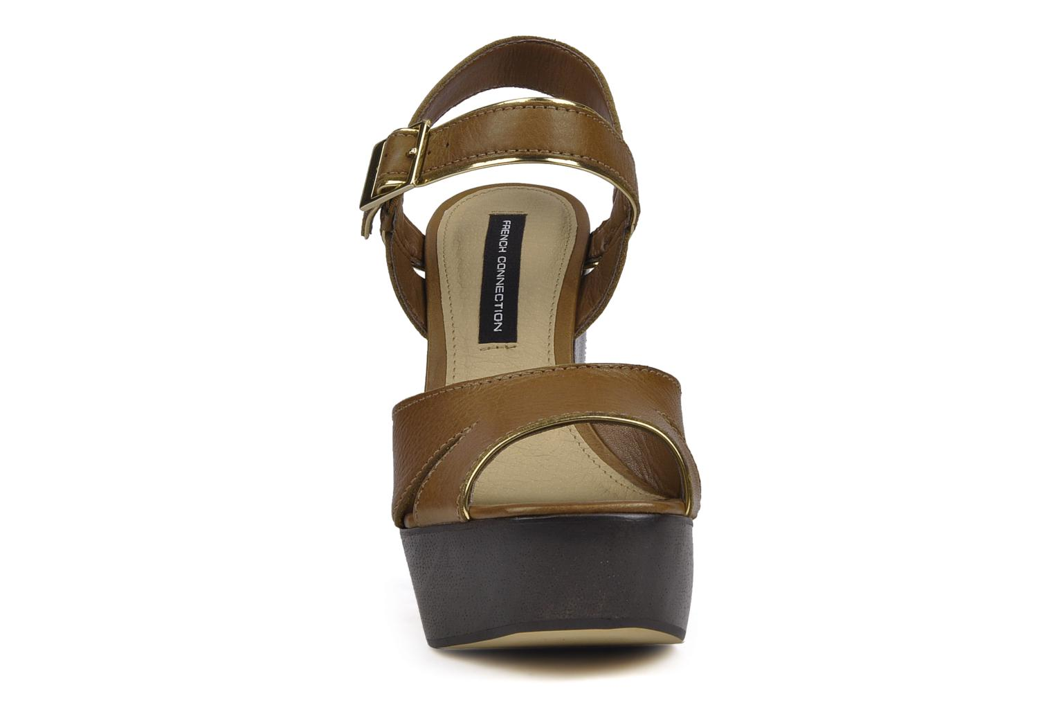 Sandals French Connection Jackson Brown model view