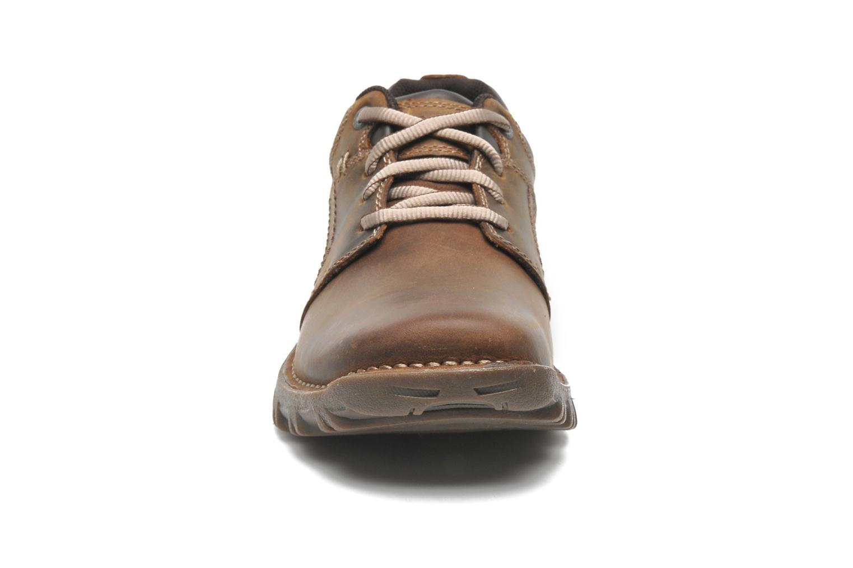 Chaussures à lacets Caterpillar Emerge Marron vue portées chaussures