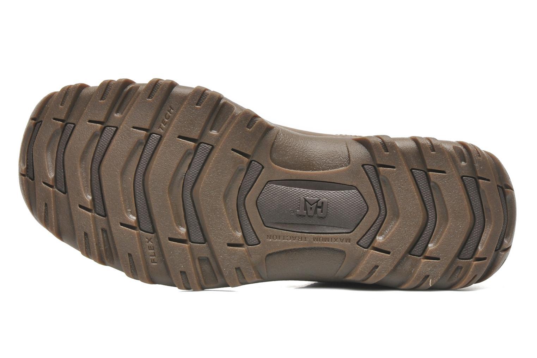 Chaussures à lacets Caterpillar Emerge Marron vue haut