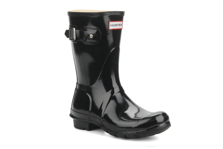 Grandes descuentos últimos zapatos Hunter Hunter original short gloss w (Negro) - Botines  Descuento