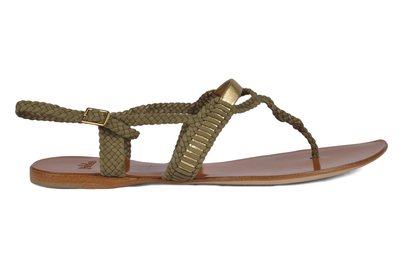 Sandals Maloles Liya Green back view