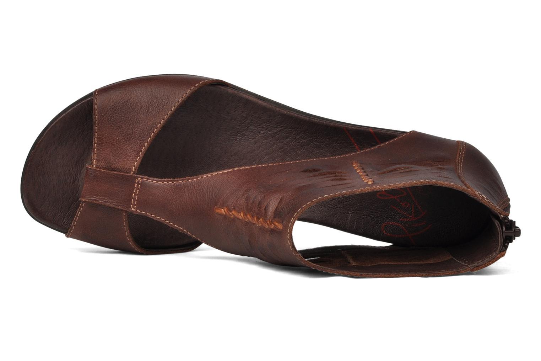 Sandali e scarpe aperte Pikolinos Alcudia 8262 Marrone immagine sinistra