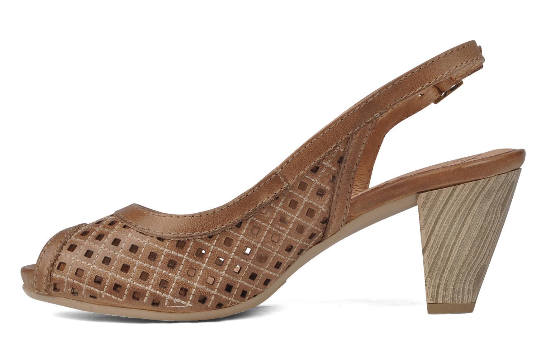 Sandali e scarpe aperte Pikolinos Vic 8385 Beige immagine frontale