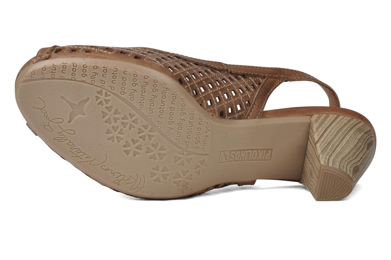 Sandali e scarpe aperte Pikolinos Vic 8385 Beige immagine dall'alto