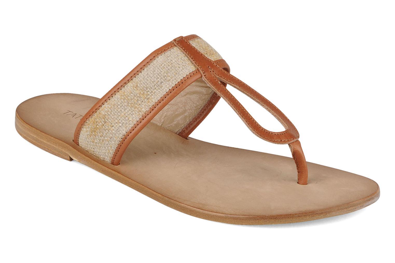 Slippers Tatoosh Piana Bruin detail