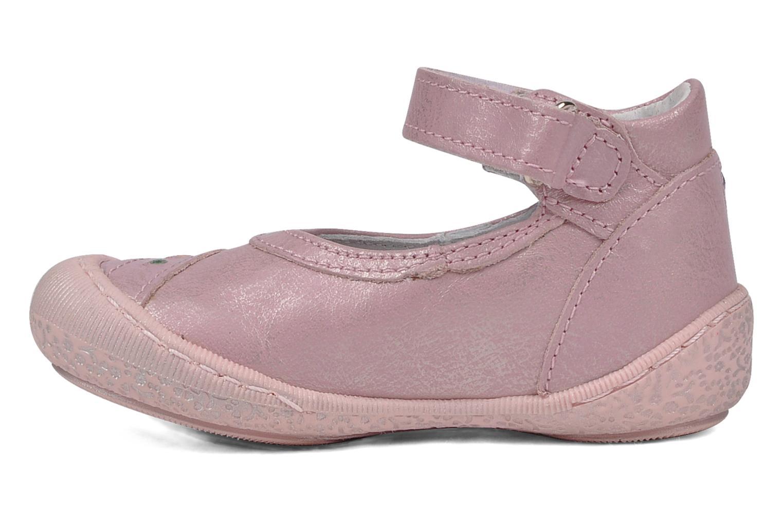 Ballerinas Little Mary Hirondelle rosa ansicht von vorne