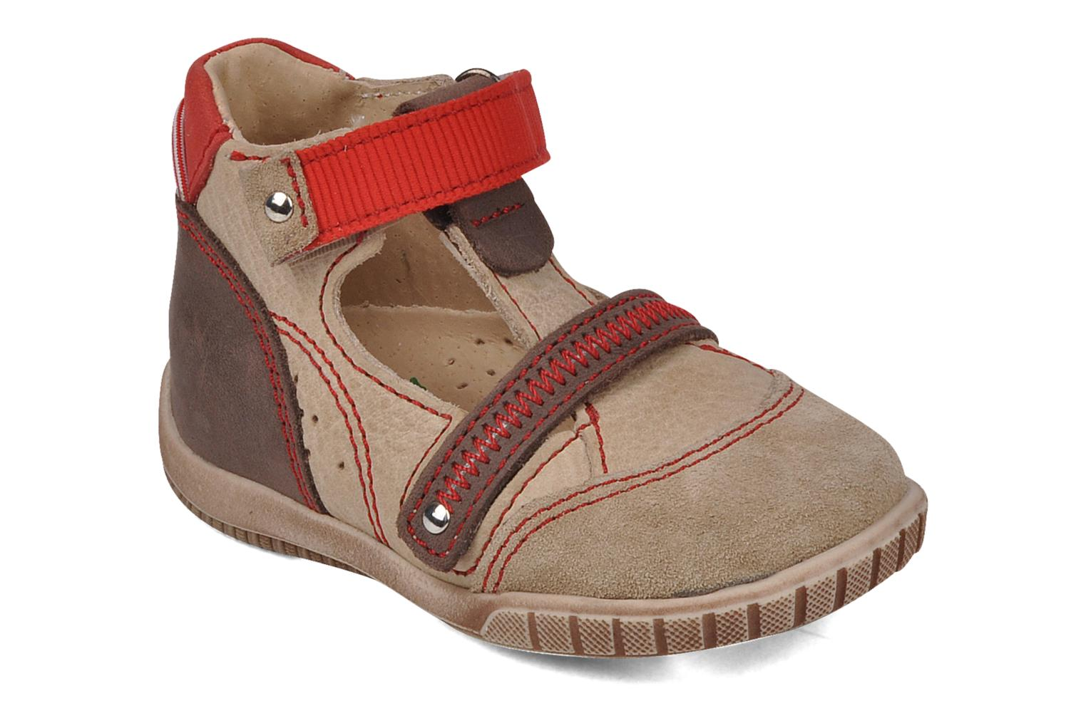 Summer boots Little Mary Hindou Beige detailed view/ Pair view