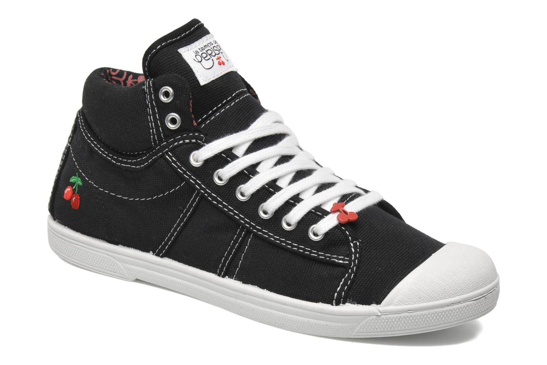 Sneaker Le temps des cerises Basic 03 schwarz detaillierte ansicht/modell