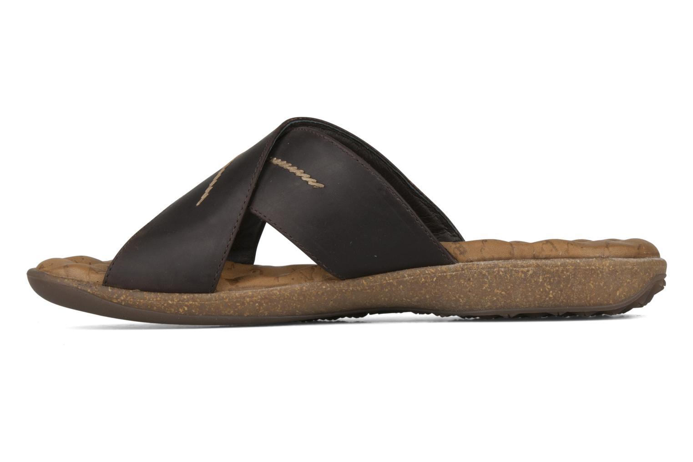 Sandals Panama Jack Kareb Brown front view