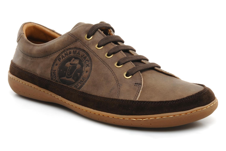 Sneakers Panama Jack Iker Beige detail