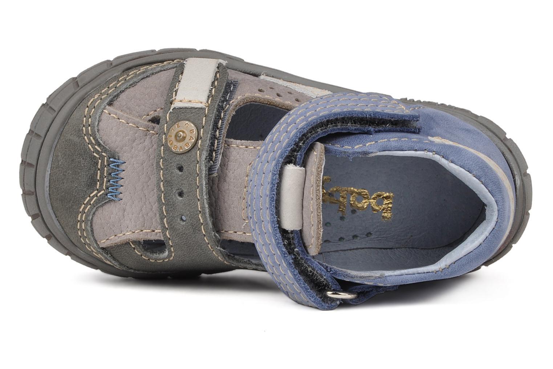 Bottines et boots Babybotte Snoupi Bleu vue gauche