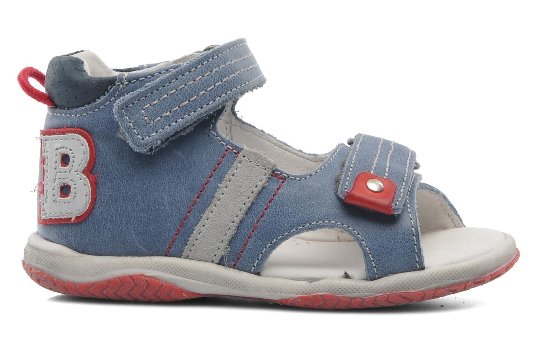 Sandalen Babybotte Tom Blauw achterkant