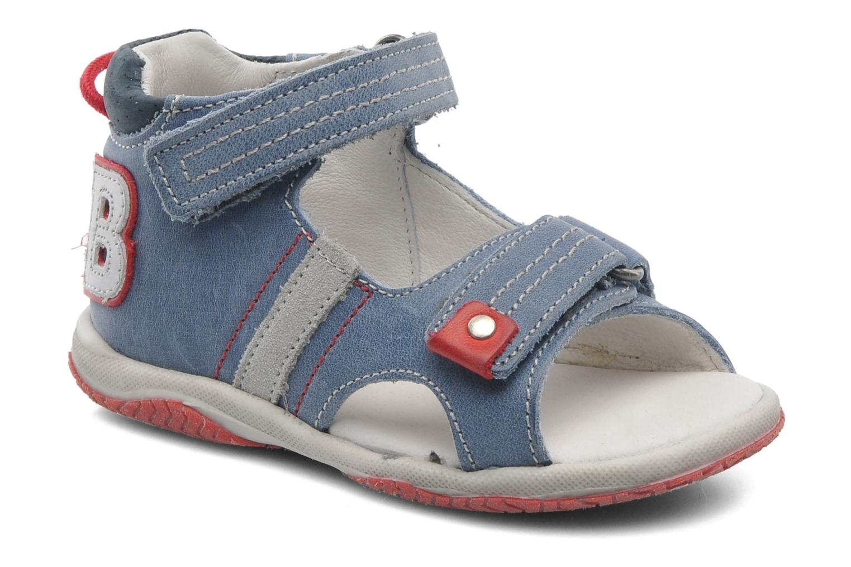 Sandalen Babybotte Tom Blauw detail