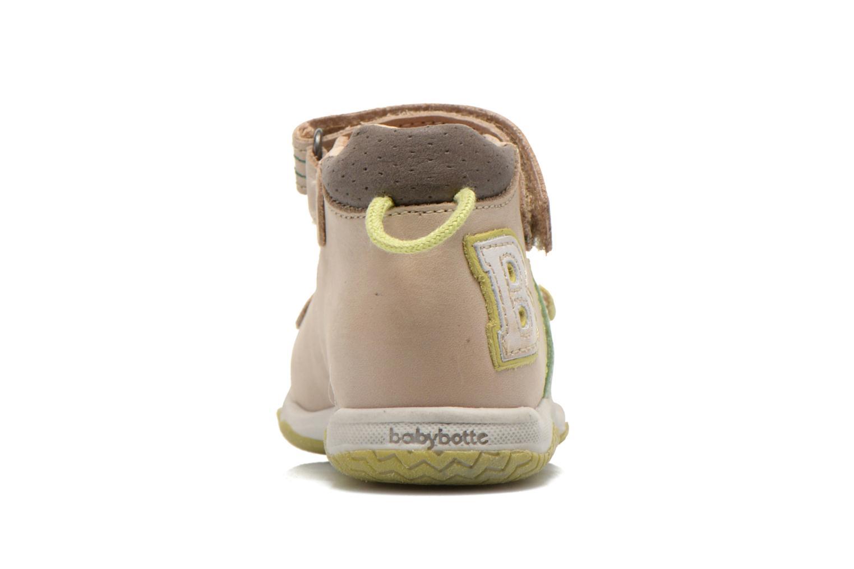 Sandales et nu-pieds Babybotte Tom Beige vue droite