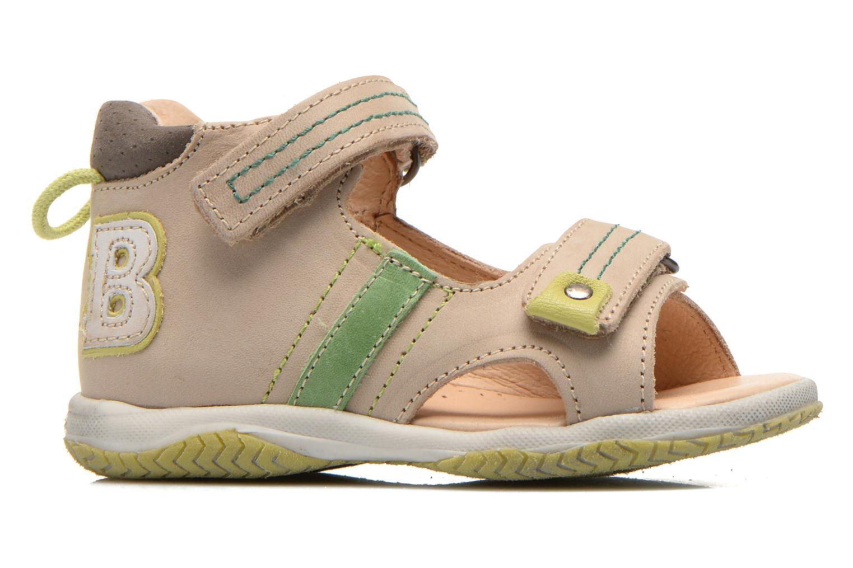 Sandales et nu-pieds Babybotte Tom Beige vue derrière