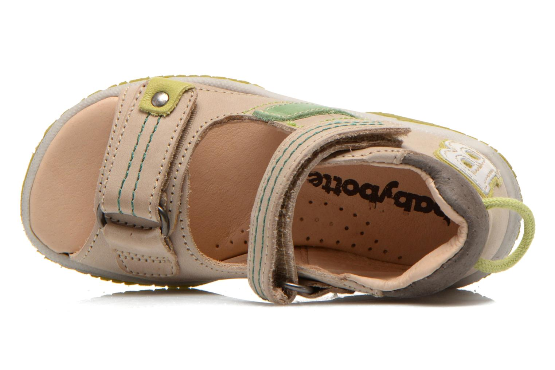Sandales et nu-pieds Babybotte Tom Beige vue gauche