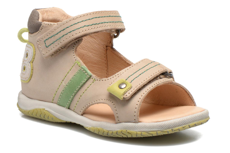 Sandales et nu-pieds Babybotte Tom Beige vue détail/paire