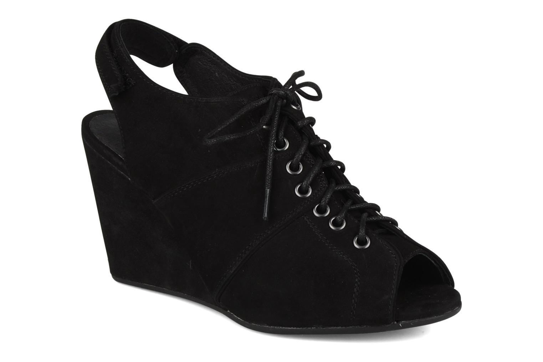 Sandalen No Name Diva open toe Zwart detail