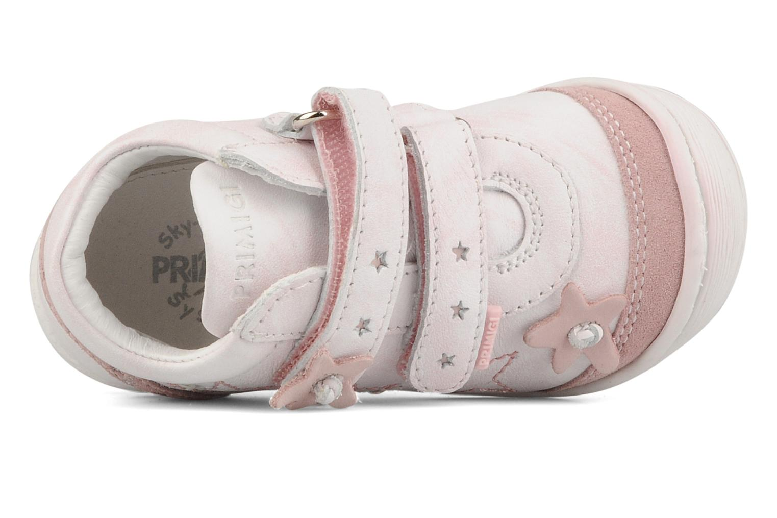 Trainers Primigi Diolly-e Pink view from the left