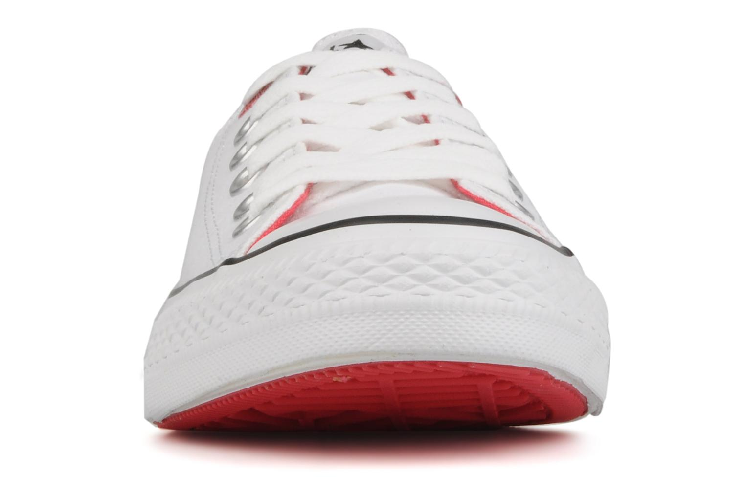 Trainers Converse Chuck taylor all star red i am … ox w White model view