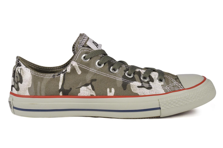 Baskets Converse Chuck taylor all star vagabond camo print ox m Vert vue derrière