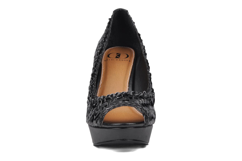 Escarpins Kelsi Dagger Eliana Noir vue portées chaussures