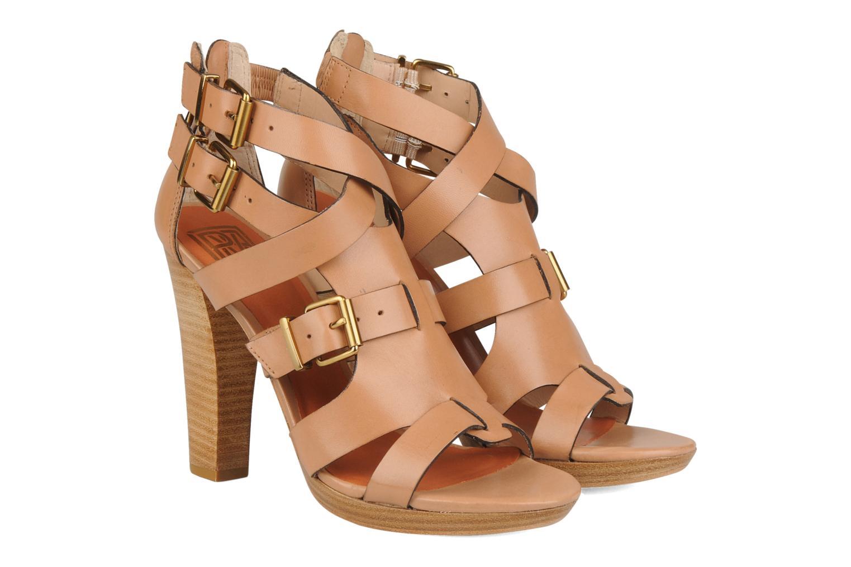 Sandals Pour La Victoire Vanna Brown 3/4 view