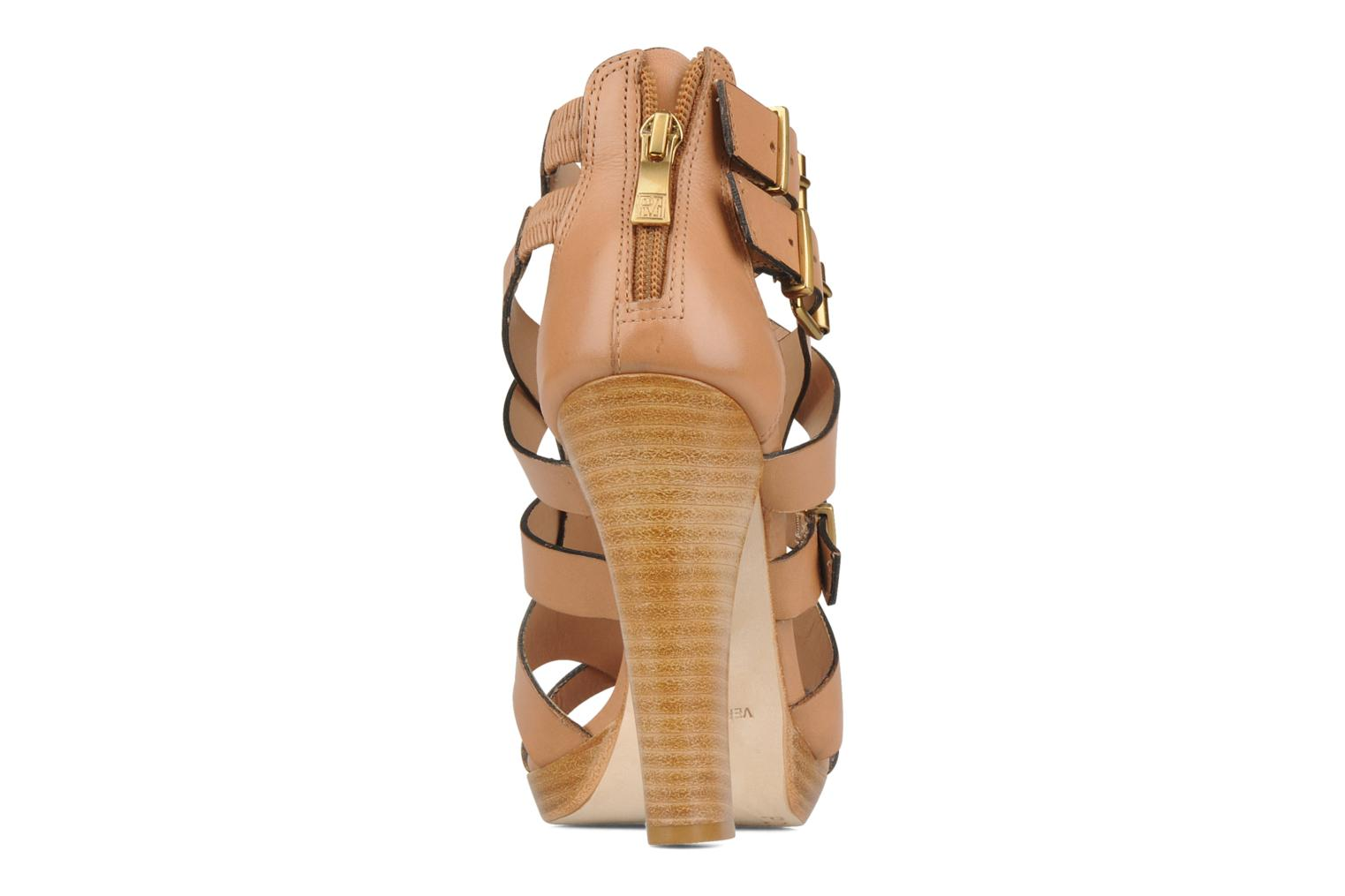 Sandals Pour La Victoire Vanna Brown view from the right