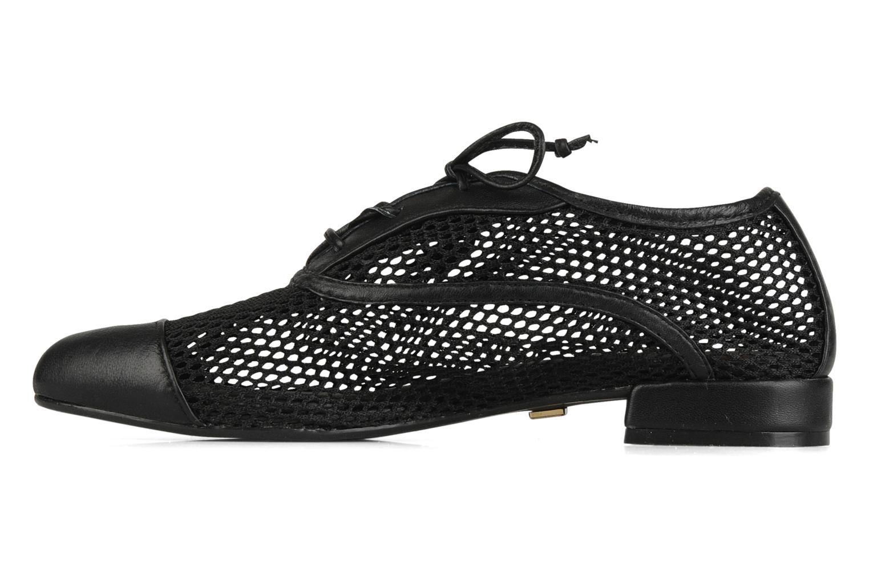 Zapatos con cordones Pour La Victoire Morina Negro vista de frente
