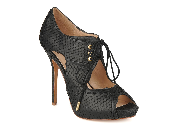 Sandales et nu-pieds Pour La Victoire Rima Noir vue détail/paire