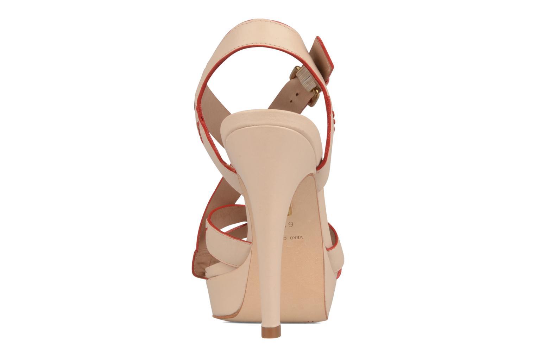 Sandales et nu-pieds Pour La Victoire Abigail Beige vue droite