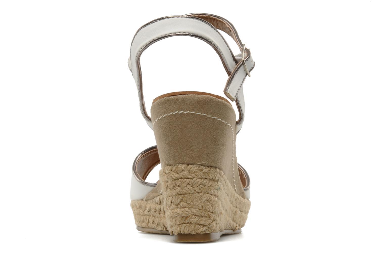 Scarpe di corda Latinas Dolores Bianco immagine destra