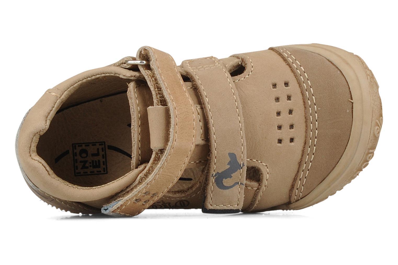 Bottines et boots Noël Mini ring Marron vue gauche