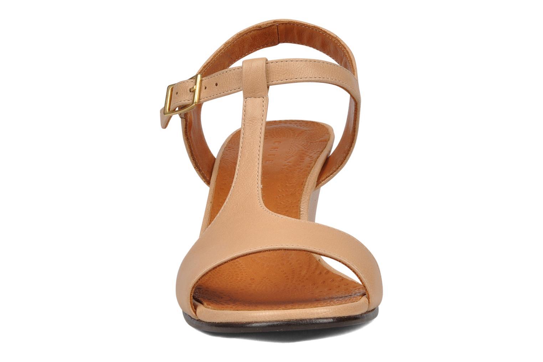 Sandals Chie Mihara Reparto Beige model view
