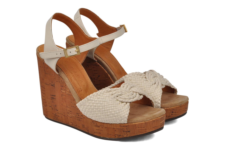 Sandals Chie Mihara Doremi White 3/4 view
