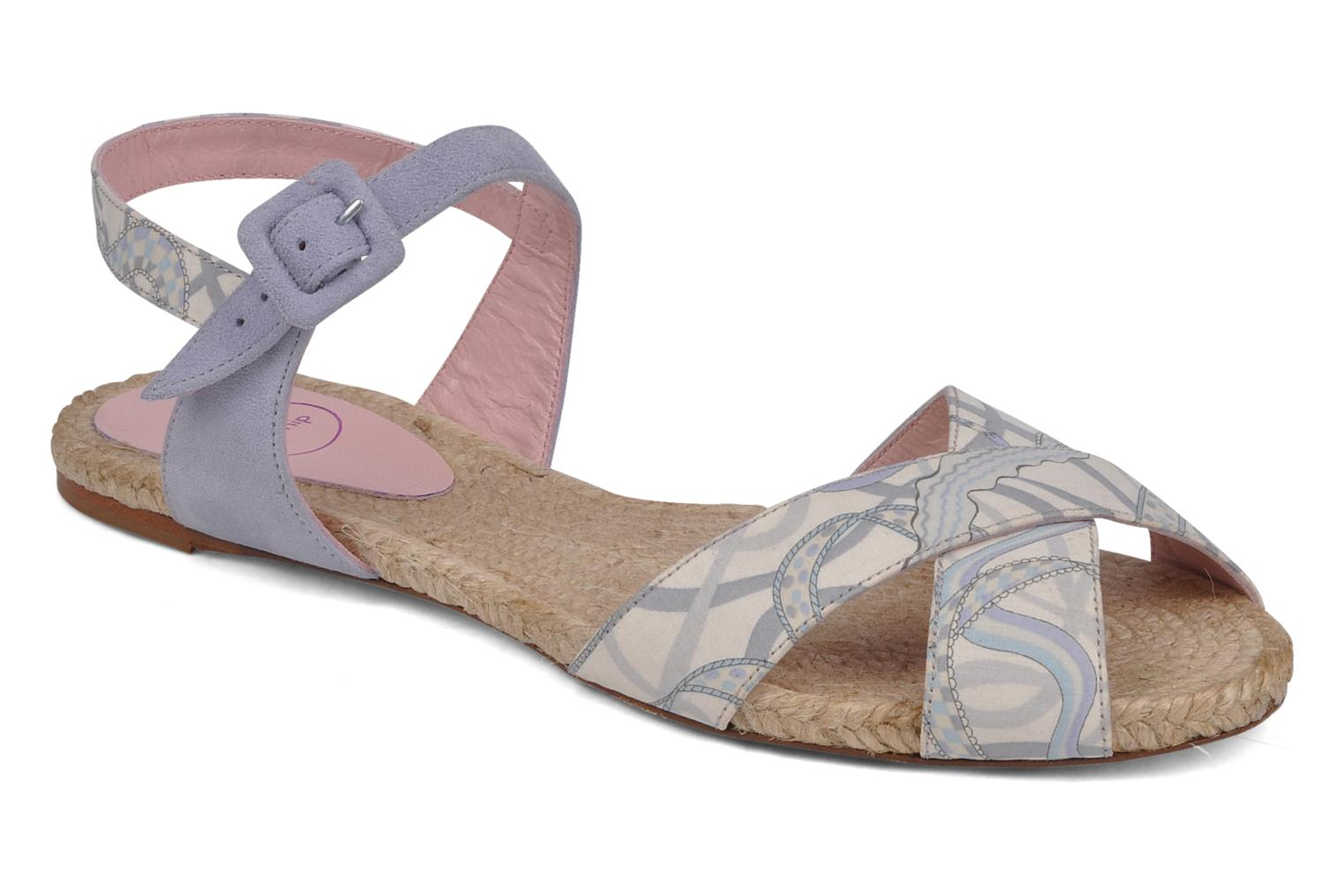 Sandals Annabel Winship Hopper Grey detailed view/ Pair view