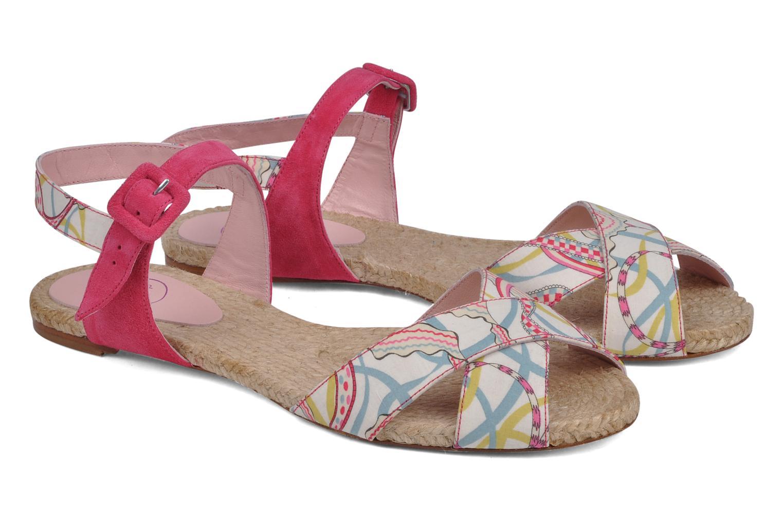 Sandales et nu-pieds Annabel Winship Hopper Rouge vue 3/4