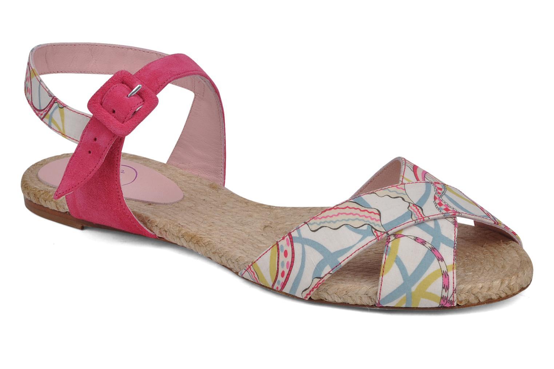Sandales et nu-pieds Annabel Winship Hopper Rouge vue détail/paire