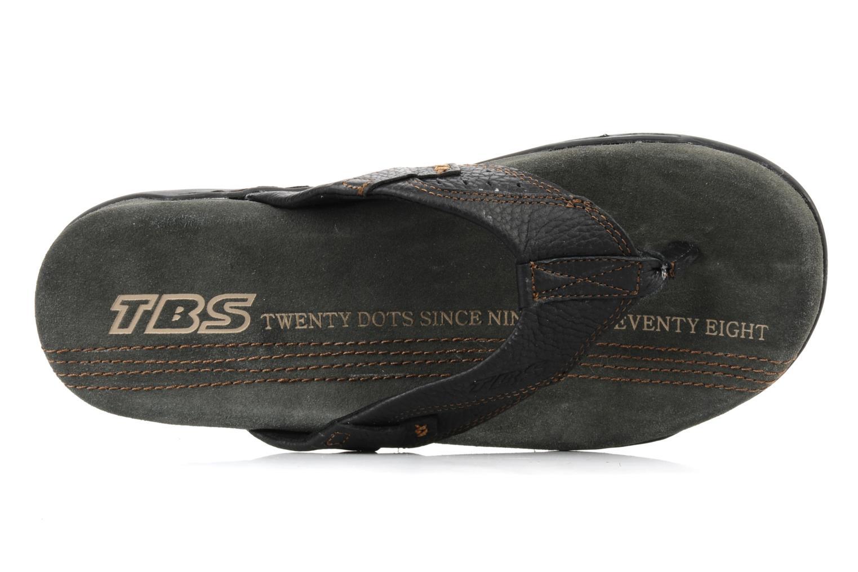 Slippers TBS Unites Zwart links