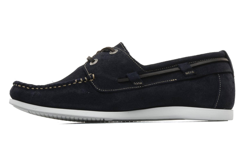 Zapatos con cordones TBS Asfeld Azul vista de frente